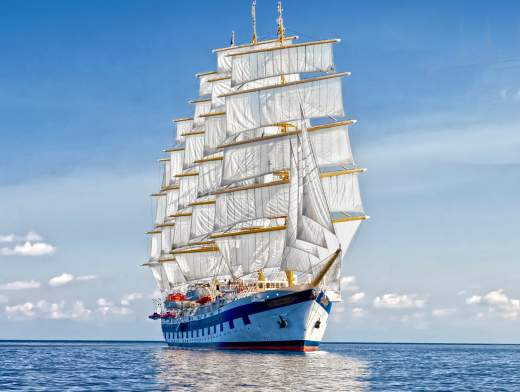 Les Grenadines à bord du Royal Clipper