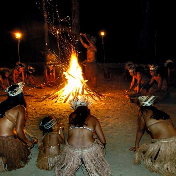 Rituel traditionnel Munduruku